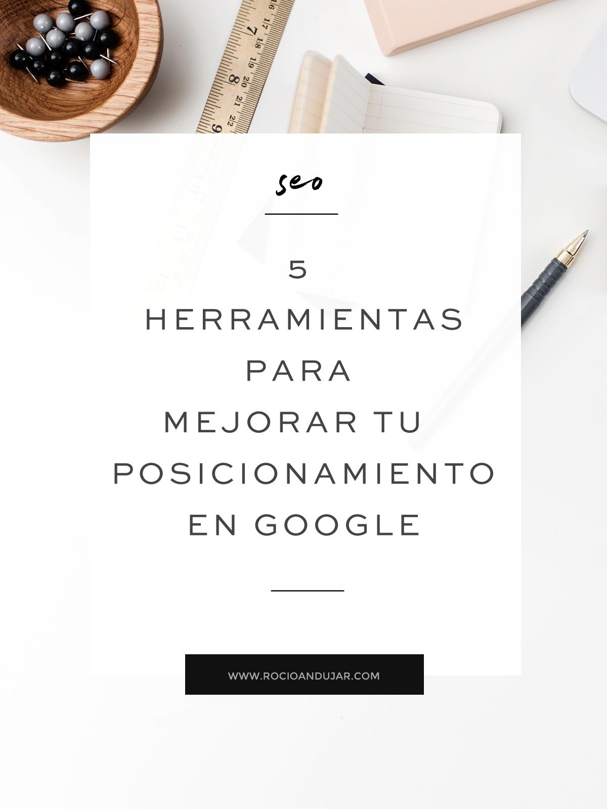 5 herramientas para mejorar posicionamiento en google